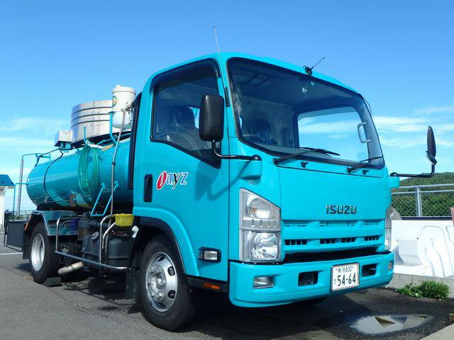 汲み取り・浄化槽維持管理業務